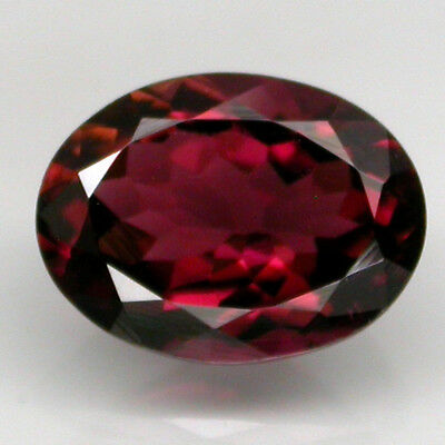 1.18 Ct. 9x6.5 mm. Oval Cut 100% Natural Untreated Top Purplish Pink Tourmaline