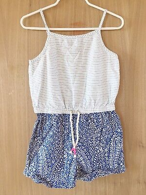 Girl's J.Crew Crewcuts Jumpsuit Romper Size 5 Pre-owned