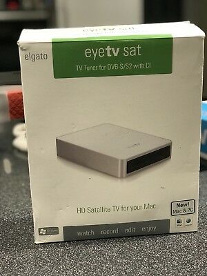Elgato Eyetv Sat. TV tuner for DVB-S with CI