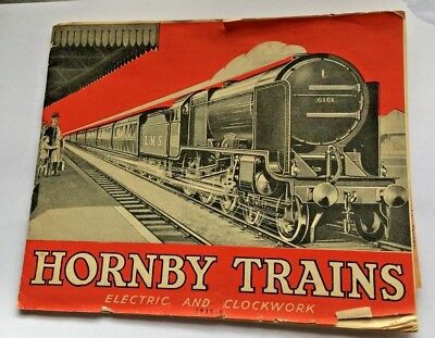 Extremely Rare 1935-1936 Hornby Trains Catalogue complete with Pricelist