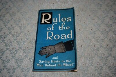 "Vintage 1920's Goodrich Tires, ""Rules of the Road"" Tire Care, Clincher Tires..."