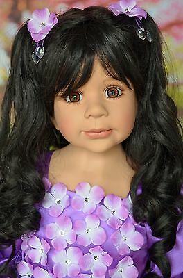 Masterpiece Dolls Sleeping Beauty Black Wig, Fits Up To 20-Inch Head