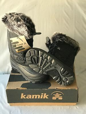Kamik Girls Snowgypsy Cold Weather Boot Black Reg $60 Now $39.99