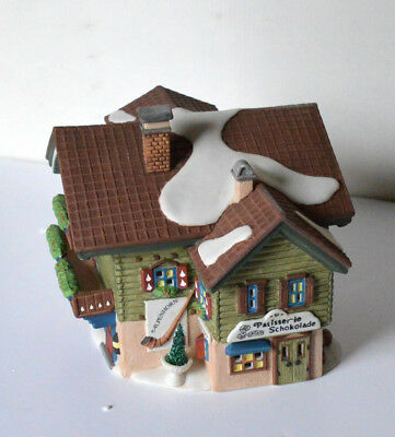 "BEAUTIFUL New Department 56 Alpine Village Collection ""Sport Laden"" #56120"