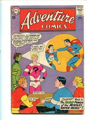 Adventure Comics #307 Affordable Grade Dramatic Cover Gem
