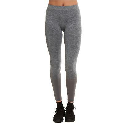 Sweet Romeo 7263 Womens Gray Compression Quick Dry Athletic Leggings S/M BHFO