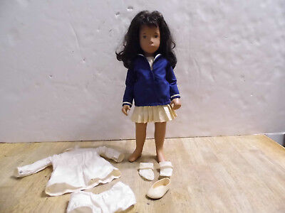 Vintage Sasha Brunette Doll with Sailor Outfit - Estate Find