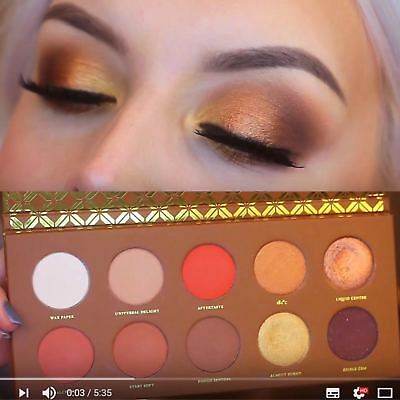 Rose Golden & Cocoa Blend & Caramel Melange Eyeshadow Palette Selected With Love