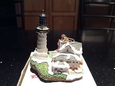 Harbour Lights Point Fermin CA 1996 Lighthouse Christmas Ornament Soc. Exclusive