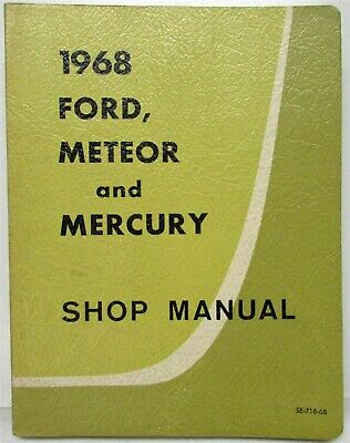 1973 Mercury Meteor Rideau Montcalm Owners Manual NOS Owner Guide Book