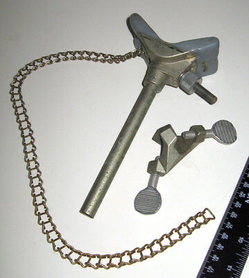Fisher Scientific Castaloy Chain Clamp and Regular Clamp Holder