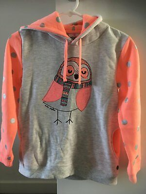 girls size 10 HOODIE/ WINDCHEATER/JUMPER EVES SISTER