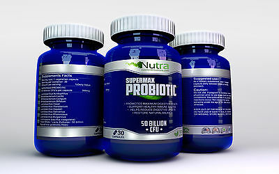 X1 Probiotic Supplement 50 Billion CFU's Active Balance Clinical Ultra Strength