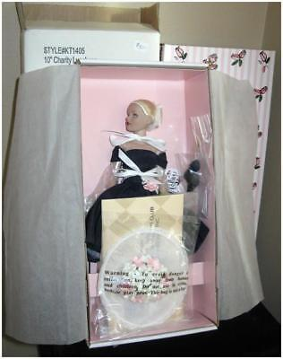"""Robert Tonner 10"""" TINY KITTY Collier Doll CHARITY LUNCHEON, NEW in Box!"""
