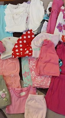 Bulk lot Baby Girls clothes 40 items - size 00 - Summer