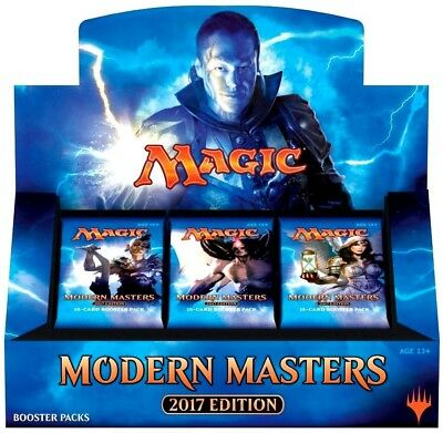 Modern Masters 2017 Factory Sealed Booster Box Magic the Gathering MTG 24 Packs