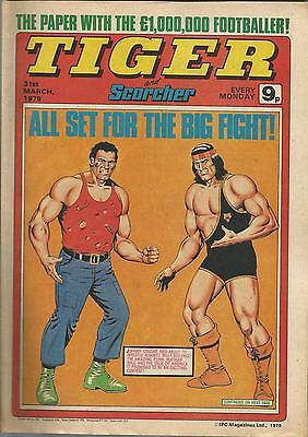 IPC Magazines TIGER Comic. March 31st 1979. **FREE POSTAGE** Great Condition