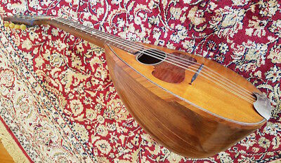 Raffaele Calace vintage bowl-back mandolin made in Naples, Italy, 1926