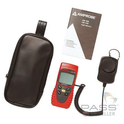 *NEW* Amprobe LM-100 Light Meter incl. Accessories / UK Stock