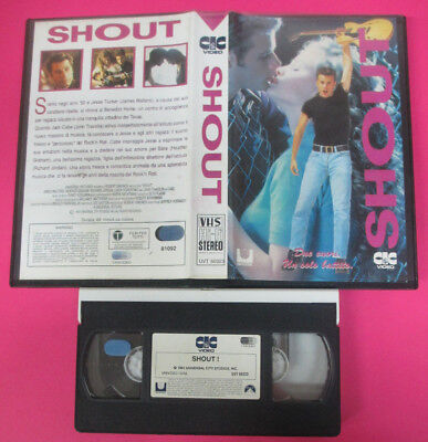 VHS film SHOUT 1992 John Travolta James Walters CIC UVT 60323 (F177) no dvd