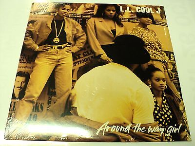 "Ll Cool J Sealed 1990 Usa Vinyl 12"" Def Jam Around The Way Girl Warehouse Find"