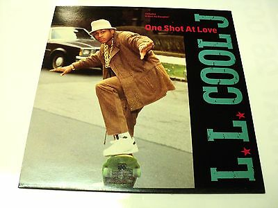 "Ll Cool J Unplayed 1989 Vinyl 12"" Def Jam One Shot At Love - Warehouse Find"