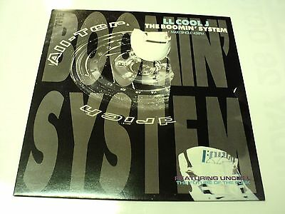 "Ll Cool J Unplayed 1990 Vinyl 12"" Def Jam The Boomin' System - Warehouse Find"