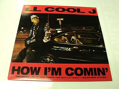 "Ll Cool J Unplayed 1993 Vinyl 12"" Def Jam How I'm Comin'  - Warehouse Find"