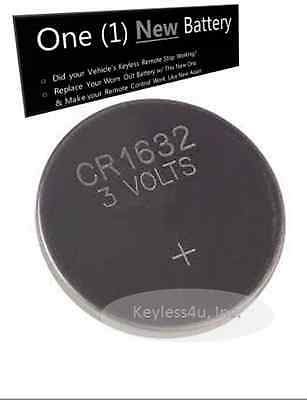 keyless remote Replacement battery CR1632 OEM HYQ14ACX entry transmitter beeper