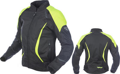 Fly Racing Womens Butane Jacket Black/Yellow Medium
