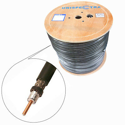 50 OHM VERY LOW LOSS COAX CABLE -S400 (LMR400 Equivalent) Amateur Radio HQ -LOT