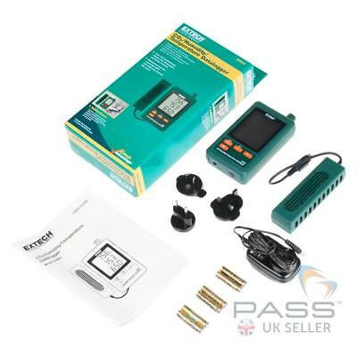 NEW Extech SD800 CO2/Humidity/Temperature Datalogger + Accessories / UK