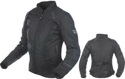 Fly Racing Womens Butane Jacket Black Medium