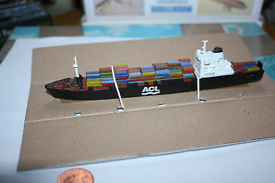 Atlantic Causeway container ship fully painted from Mountford Models 1250 scale