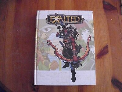 EXALTED ROLEPLAYING GAME RPG Rulebook 1st edition White Wolf GC