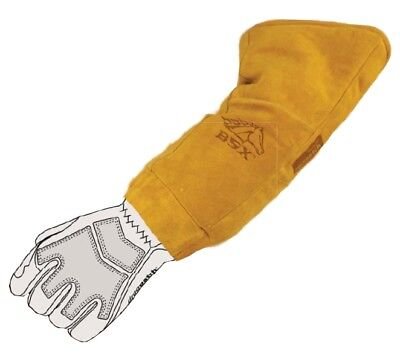 Black Stallion BSX BX-EXT Durable Genuine Leather Welding Glove Extender