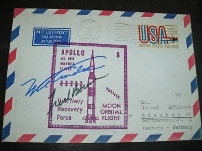 APOLLO 8 Recovery orig.signed Frank BORMAN, SPACE