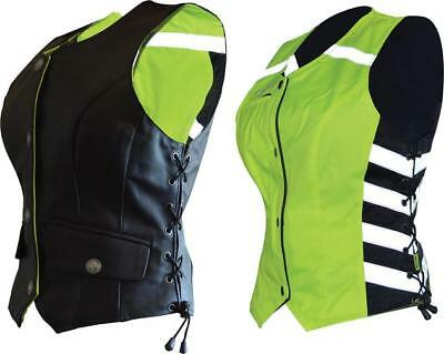 Missing Link Womens G2 D.O.C. Reversible Safety Vest Green Small