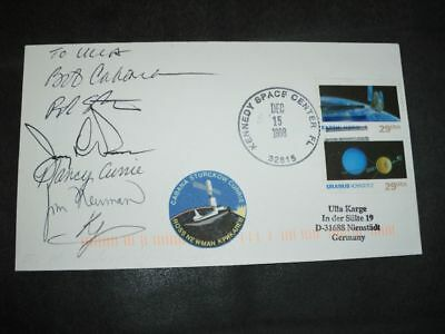 STS 88 launchcover orig.signed Crew, SPACE