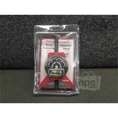 """Flange Wizard 53025M Magnetic Small Centering Head Tool, For 1 1/2"""" - 12"""" Pipes"""