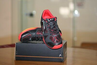 HEAD INDOOR SHOES REVOLT RACQUETBALL COURT SHOES Black / Red MENS US 13