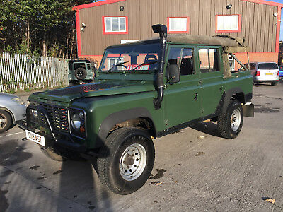 1986 Land Rover Defender  LAND ROVER DEFENDER 110 COUNTY SW 2.5TDi  CONVERTIBLE CANVAS TOP & HARD TOP