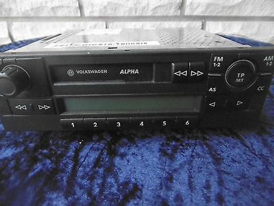blaupunkt autoradio mit cassette vw alpha picclick de. Black Bedroom Furniture Sets. Home Design Ideas