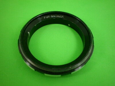 Vintage Nikon to 52mm Reverse Ring for Close Up / Macro Photography.