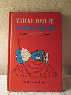 You've Had It, Charlie Brown, PB (1969 Peanuts Book) First Edition