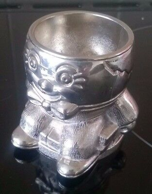 (C) 1 x SILVER PLATED HUMPTY DUMPTY EGG CUP