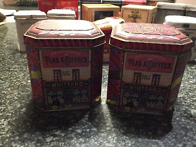 Vintage Tea Caddies