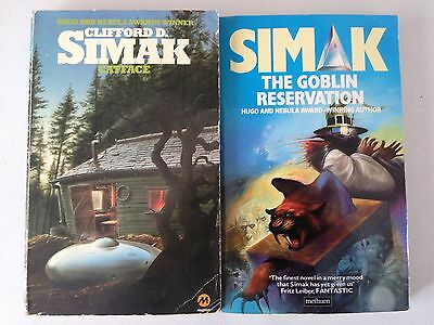 Clifford Simak 2 Books – Catface, The Goblin Reservation