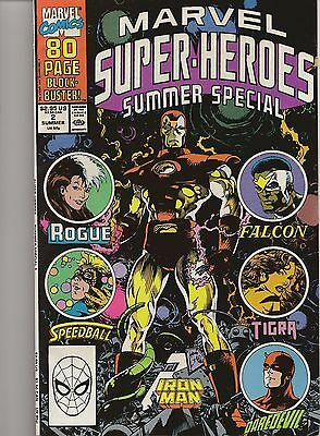 Comic Book - Marvel Super-Heroes #2, July 1990 - Summer Special