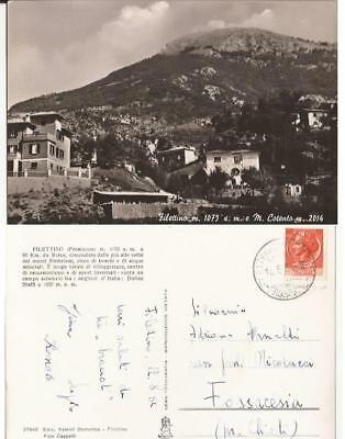 Italy Postcard Filettino Fg